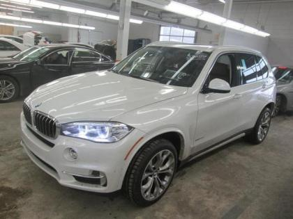 2014 BMW X5 XDRIVE35D - WHITE ON BROWN