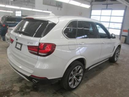 Export Used 2014 Bmw X5 Xdrive35d White On Brown