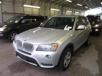 2012 BMW X3 XDRIVE28I - SILVER ON BLACK