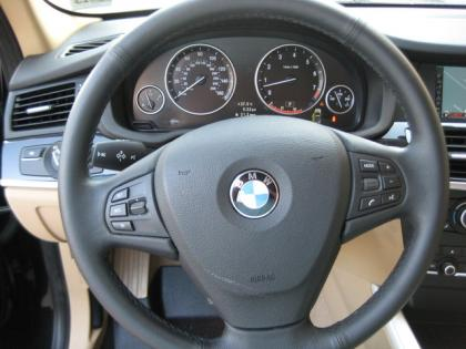 2012 BMW X3 XDRIVE28I - BLACK ON BEIGE 6