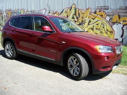 Export Used 2011 Bmw X3 Xdrive35i Red On Beige