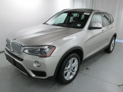 2015 BMW X3 XDRIVE35I - SILVER ON BLACK