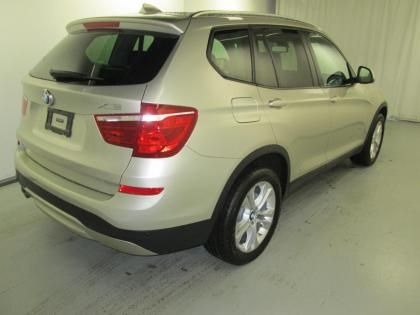 2015 BMW X3 XDRIVE35I - SILVER ON BLACK 2