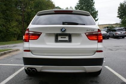 2012 BMW X3 XDRIVE35I - WHITE ON BLACK 3