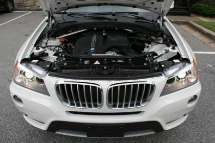 2012 BMW X3 XDRIVE35I - WHITE ON BLACK 4
