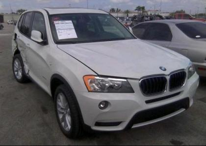 2013 BMW X3 XDRIVE28I - WHITE ON BLACK 1