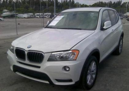 2013 BMW X3 XDRIVE28I - WHITE ON BLACK 2