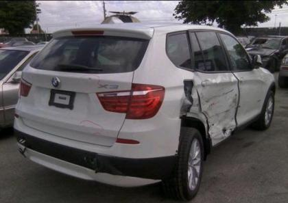 2013 BMW X3 XDRIVE28I - WHITE ON BLACK 4
