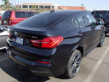 2015 BMW X4 BASE - BLUE ON BEIGE 2