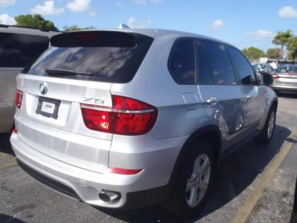 2011 BMW X5 XDRIVE35I - SILVER ON BLACK 2