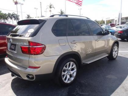 Export Used 2011 Bmw X5 Xdrive35i Gold On Orange