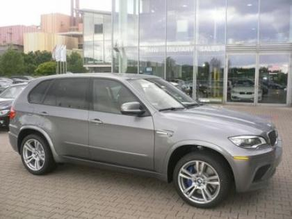 Export Used 2013 Bmw X5 M Gray On Beige