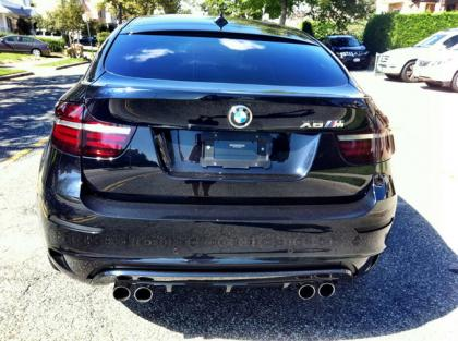 Export Used 2013 Bmw X6 M Black On White