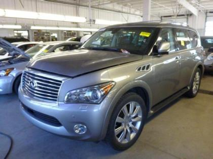 2013 INFINITI QX56 BASE - GRAY ON BLACK