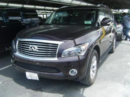 2013 INFINITI QX56 BASE - PURPLE ON BLACK