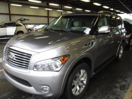 2013 INFINITI QX56 BASE - GRAY ON BEIGE