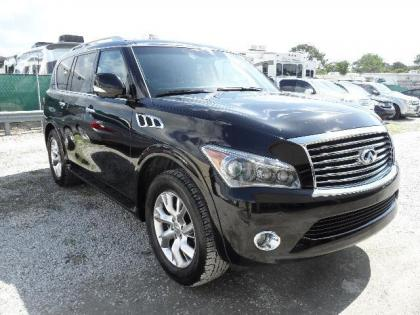 2013 INFINITI QX56 BASE - BLACK ON BLACK