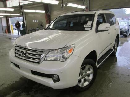 2013 LEXUS GX460 BASE - WHITE ON BLACK