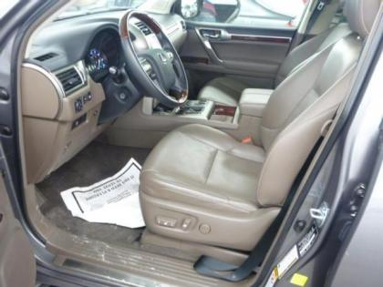 2013 LEXUS GX460 PREMIUM - GRAY ON GRAY 4