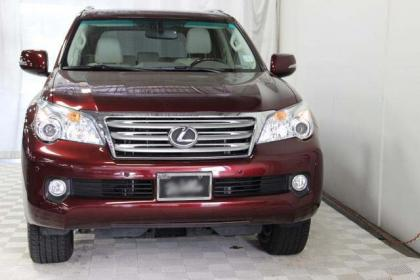2012 LEXUS GX460 PREMIUM - RED ON BEIGE