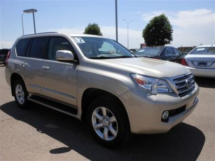 2012 LEXUS GX460 BASE - GOLD ON BEIGE 8