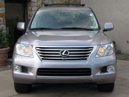 export used 2008 lexus lx570 base gray on gray. Black Bedroom Furniture Sets. Home Design Ideas