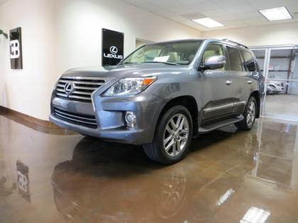 2013 LEXUS LX570 BASE - GRAY ON BEIGE