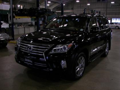 2013 LEXUS LX570 LUXURY PACKAGE - BLACK ON BEIGE