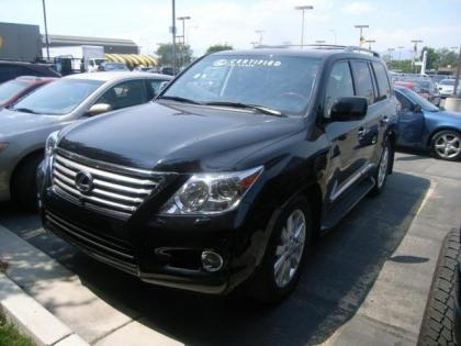 2011 LEXUS LX570 BASE - BLACK ON BLACK