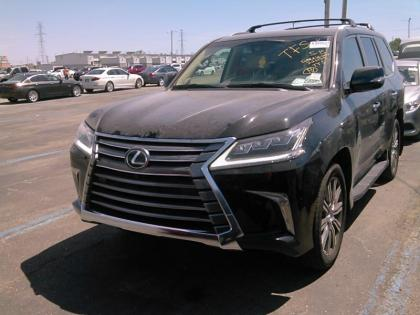 2017 LEXUS LX570 BASE - BLACK ON BEIGE