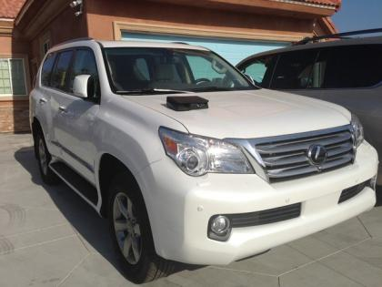2013 LEXUS GX460 PREMIUM - WHITE ON BEIGE 2