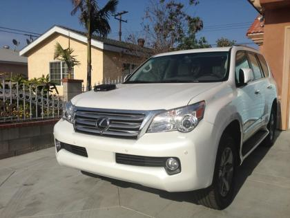 2013 LEXUS GX460 PREMIUM - WHITE ON BEIGE 3