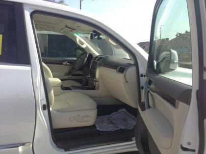 2013 LEXUS GX460 PREMIUM - WHITE ON BEIGE 7