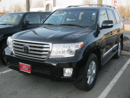 2013 TOYOTA LAND CRUISER BASE - BLACK ON BLACK