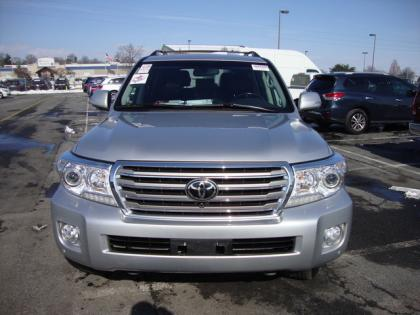 2013 TOYOTA LAND CRUISER BASE - SILVER ON BLACK 2