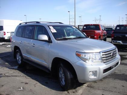 2013 TOYOTA LAND CRUISER BASE - SILVER ON BLACK 3
