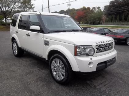 2010 LAND ROVER LR4 BASE - WHITE ON BEIGE