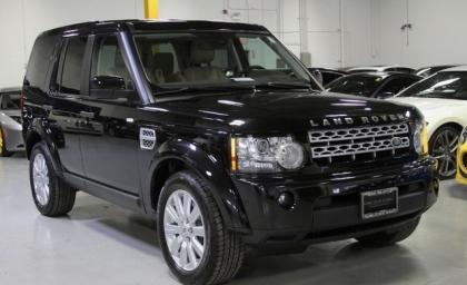 2013 LAND ROVER LR4 HSE - BLACK ON BEIGE