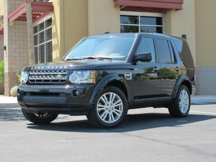 2010 LAND ROVER LR4 BASE - BLACK ON BLACK
