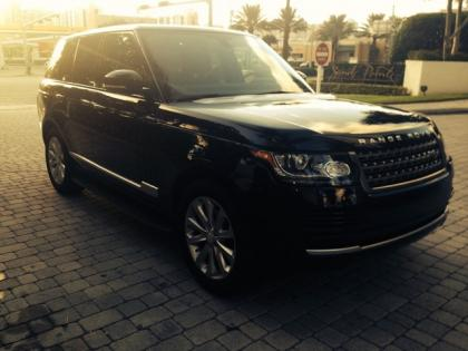 2014 LAND ROVER RANGE ROVER HSE - BLACK ON BLACK 1