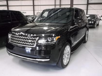 2014 LAND ROVER RANGE ROVER HSE - BLACK ON BLACK