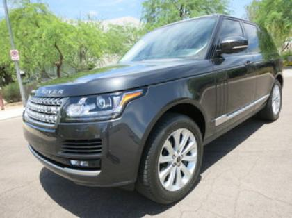 2013 LAND ROVER RANGE ROVER HSE - GRAY ON BLACK