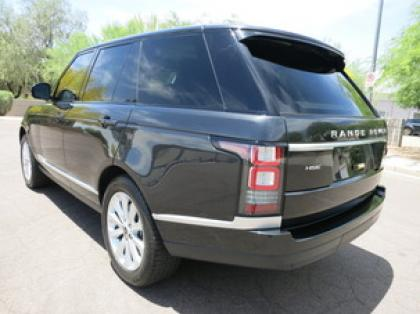 2013 LAND ROVER RANGE ROVER HSE - GRAY ON BLACK 4