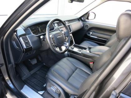 2013 LAND ROVER RANGE ROVER HSE - GRAY ON BLACK 5