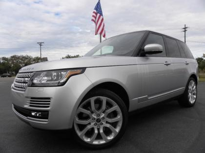 2013 LAND ROVER RANGE ROVER SUPERCHARGED - SILVER ON BLACK 1