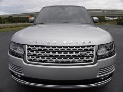 2013 LAND ROVER RANGE ROVER SUPERCHARGED - SILVER ON BLACK 2