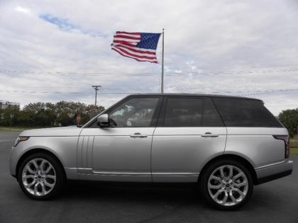 2013 LAND ROVER RANGE ROVER SUPERCHARGED - SILVER ON BLACK 3