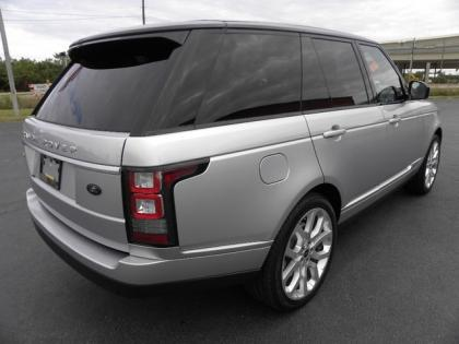 2013 LAND ROVER RANGE ROVER SUPERCHARGED - SILVER ON BLACK 4