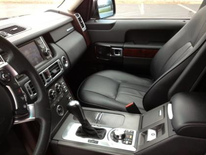2010 LAND ROVER RANGE ROVER HSE - GRAY ON BLACK 7