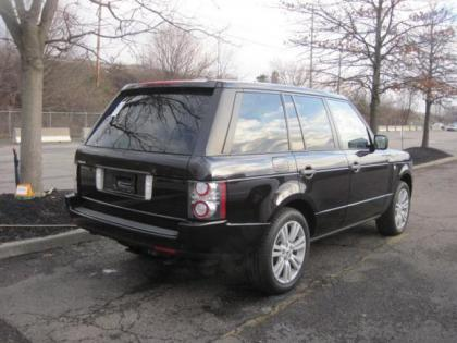 2010 LAND ROVER RANGE ROVER HSE LUX - BROWN ON BROWN 2